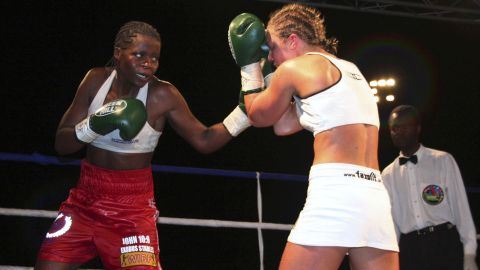 Zambia's Esther Phiri paved the way for the country's boxing boom.