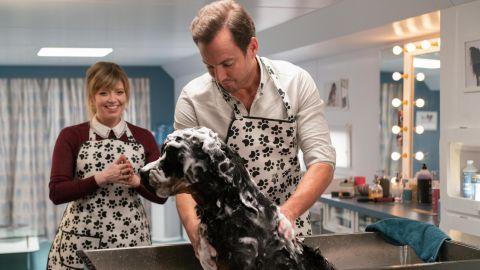 "Natasha Lyonne and Will Arnett star in ""Show Dogs."""