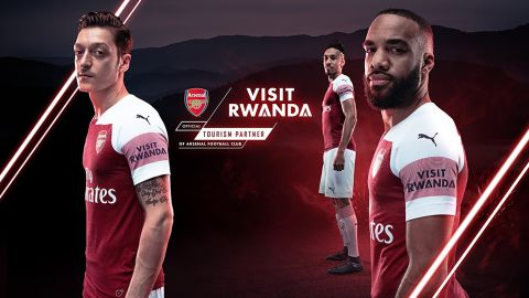 The deal between Visit Rwanda and Arsenal is for three years.