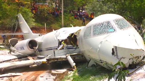 All passengers and crew survived when the jet crashed on landing at Toncontin International Airport.