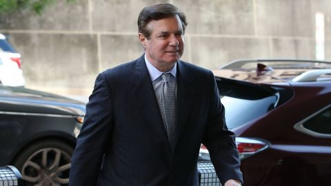 WASHINGTON, DC - MAY 23:  Former Trump campaign manager Paul Manafort arrives for a hearing at the E. Barrett Prettyman U.S. Courthouse on May 23, 2018 in Washington, DC. (Mark Wilson/Getty Images)