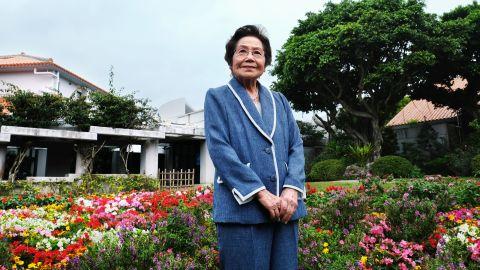 Yoshiko Shimabukuro, 88, is a Battle of Okinawa survivor. She wants young Okinawans, mainland Japanese and the world understand the importance of peace.