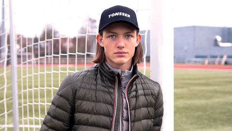 Oliver Sonne, youth player for FC Copehagen