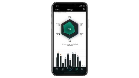 Players, coaches and scouts use the app