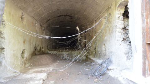 A view inside tunnel 3.