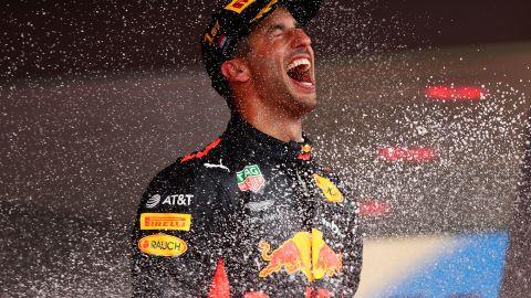 Hamilton -- 110 points<br />Vettel -- 96 points<br />Ricciardo -- 72 points