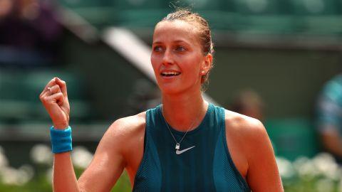 Petra Kvitova told CNN Sport that Serena Williams had overreacted to the umpire's decision.