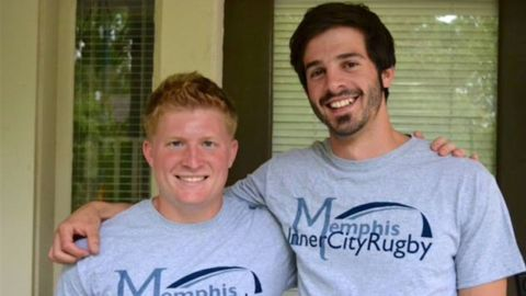Shane Young  and Devin O'Brien started Memphis Inner City Rugby in 2012.