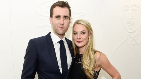 Matthew Lewis and Angela Jones attend the Lacoste VIP Lounge At ATP World Finals 2016 on November 13, 2016 in London, England.
