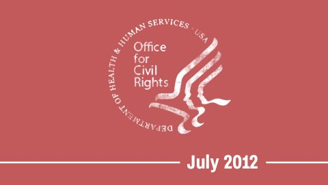 """07/12/12 -- HHS's Office for Civil Rights announces that it will <a href=""""https://www.scribd.com/document/102169872/HHS-Response-1557-7-12-12"""" target=""""_blank"""" target=""""_blank"""">accept complaints alleging gender identity discrimination</a> under the ACA."""