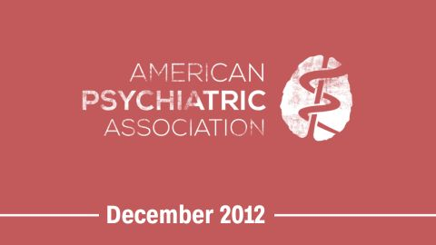 """December 2012 -- The American Psychiatric Association approves an update to its diagnostic manual to eliminate gender identity disorder and <a href=""""http://inamerica.blogs.cnn.com/2012/12/27/being-transgender-no-longer-a-mental-disorder-in-diagnostic-manual/"""">replace it with gender dysphoria</a>."""