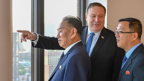 """The high-level meeting was intended to help convince the North Korean delegation that denuclearization will result in a """"brighter future."""""""