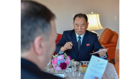 Kim Yong Chol is the highest level North Korean official to visit to the United States in 18 years.