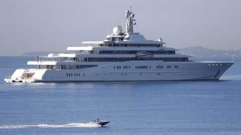 """Chelsea FC owner Roman Abramovich upgraded his superyacht fleet when he built Eclipse for roughly $485 million in 2009. The vessel <a href=""""https://www.smh.com.au/world/russian-tycoon-buys-a-yacht-to-eclipse-all-others-20090616-cgkn.html"""" target=""""_blank"""" target=""""_blank"""">is reportedly equipped</a> with a submarine and  a German-built missile defense system."""