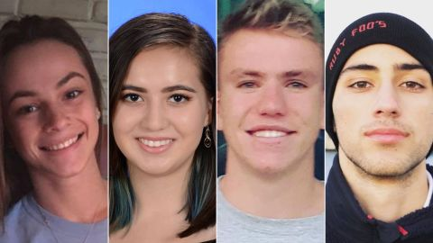 From left: Meadow Pollack, Carmen Schentrup, Nicholas Dworet and Joaquin Oliver. Each of them would have been graduating on Sunday.
