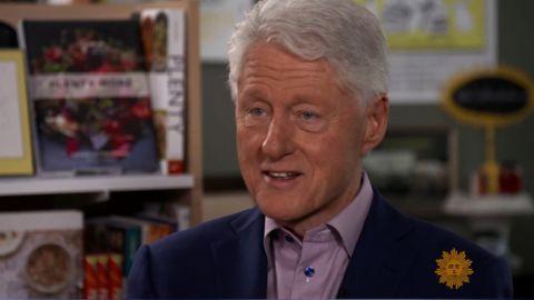 Bill Clinton CBS Sunay Morning