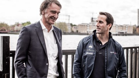 """Winning the America's Cup would be """"immense,"""" Ratcliffe tells CNN Sport. """"I'd love it. Also for Britain. We've been having a crack for one and half centuries, which describes the size of the challenge, so it would be a fabulous achievement."""""""