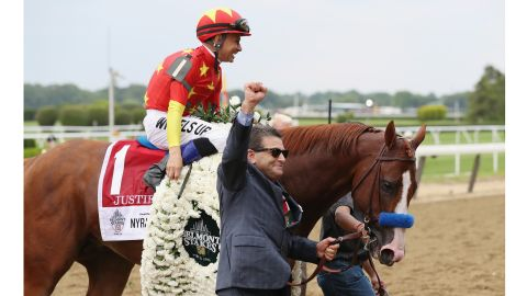 Justify is reportedly worth $60 million following his Triple Crown win.