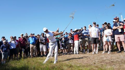 McIlroy, the 2011 champion, struggled to an opening 80, which at 10 over par was his worse score in a major.