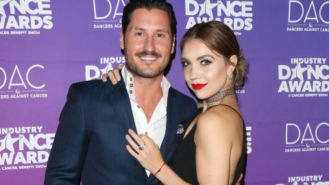 Dancers Val Chmerkovskiy and Jenna Johnson, here at an August benefit, are making it official.