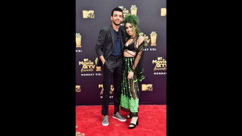 Justice Smith and Cameo Adele