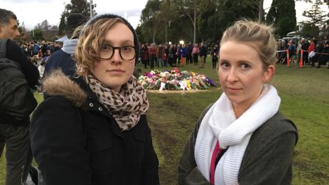 Sophie Joske, 25, and Emily Carr, 29, told CNn they felt a mix of trauma and rage over the murder of Eurydice Dixon.