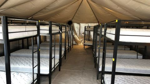 Pictures inside Tornillo UAC facility. Dorm 4