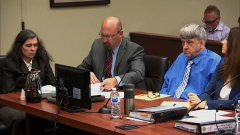Louise Turpin, left, and David Turpin, right, sit in court for a preliminary hearing on June 20, 2018.