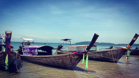 """<strong>Thailand: </strong>From thumping Phuket, yachts push east into Phang Nga Bay and the Andaman Sea to explore this unspoiled region dotted by technicolor coral reefs, remote fishing villages and honey pots such as Maya Bay, the Phi Phi islands and James Bond Island -- which provided a backdrop for """"The Man With the Golden Gun."""""""