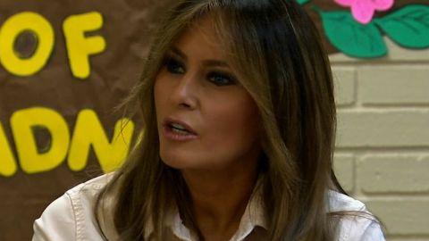 Melania Trump visits detention center in Texas