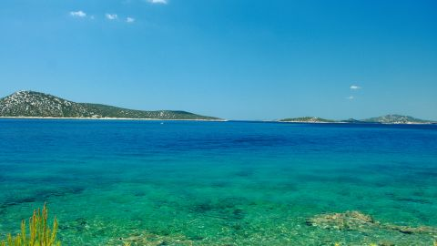 """<strong>Croatia, Kornati Islands: </strong>This Adriatic gem features historic towns, smart marinas, isolated anchorages and deserted islands in one neat package in the northern Mediterranean. The remote Kornati National Park is an unspoiled oasis -- so stunning, in fact, it moved author George Bernard Shaw to write that God created the islands """"out of tears, stars and breath."""""""
