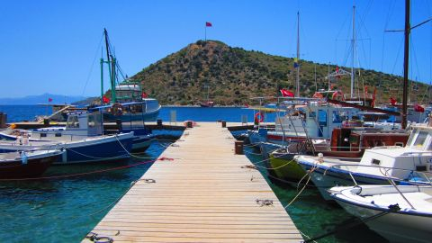 <strong>Turkey: </strong> There are quaint harbors such as Gumusluk (pictured), small bays with wooden jetties fronting local restaurants such as Cokertme or the coves of Gocek, and remote inlets such as Amazon Creek with an idyllic, away-from-it-all feel.
