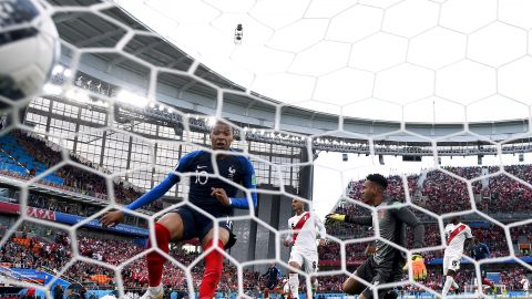 Mbappe became France's youngest ever player in a major tournament in the opening match against Australia