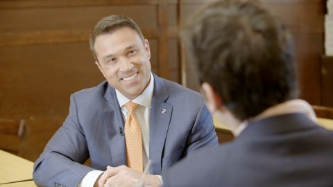 Former Rep. Michael Grimm is running for his old congressional seat.