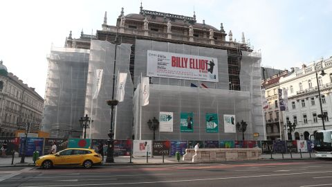 """The Hungarian National Opera in Budapest has cut 15 performances of  the musical """"Billy Elliot."""""""