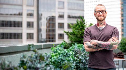 Chef Brandon Baltzley struggled with addiction for years.