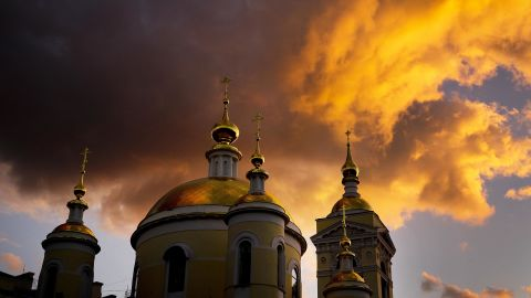 <strong>Podolsk, Russia:</strong> Russia produced plenty of spectacular moments in June as it hosted the World Cup, including this dramatic sunset in Podolsk, near Moscow. <br />