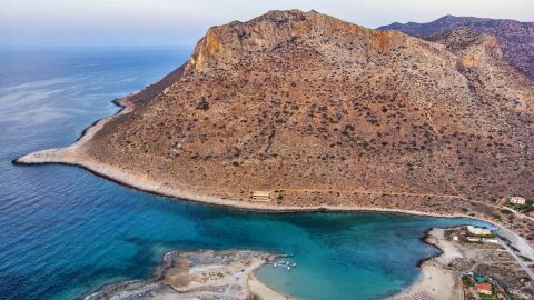 """<strong>Chania, Crete:</strong> A few kilometers from the city of Chania on the Greek island of Crete, Stavros Beach was the filming location for the celebrated dance scene in the 1964 film """"Zorba the Greek.""""<br />"""