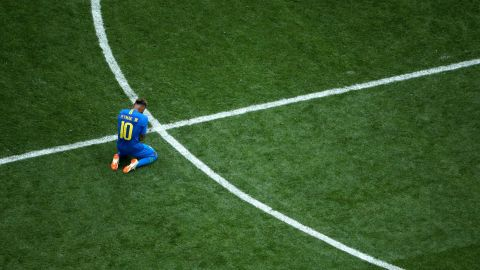 Neymar also raised a few eyebrows when he burst into tears on the pitch after victory over Costa Rica.