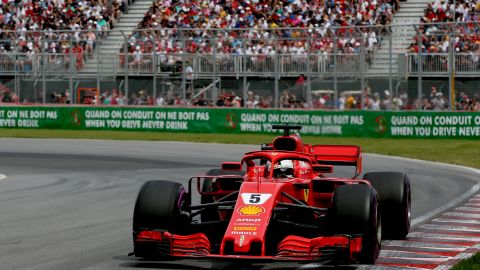 Vettel -- 121 points<br />Hamilton -- 120 points<br />Bottas -- 86 points