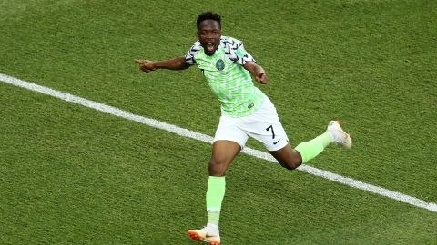 Ahmed Musa's brace gives Nigeria hope of reaching the knockout stages.