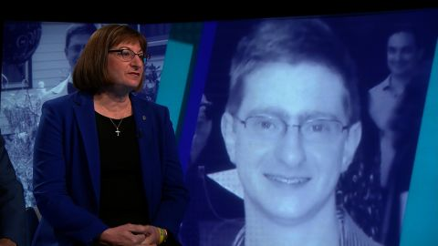 Jane Clementi at a CNN Town Hall on Suicide prevention