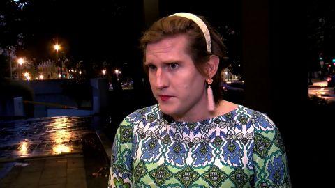 NS Slug: DC: TRANSGENDER WOMAN HARASSED AT RESTAURANT  Synopsis: Transgender woman says she was harassed, kicked out over bathroom use at D.C. restaurant  Keywords: DISTRICT OF COLUMBIA TRANSGENDER BATHROOM HARASSED