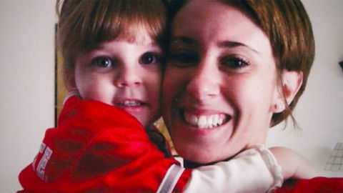 <strong>Before the trial: </strong>Casey Anthony gave birth to her daughter, Caylee Anthony (pictured here), on August 9, 2005, when she was 19 years old. The identity of Caylee's father hasn't been publicly identified.