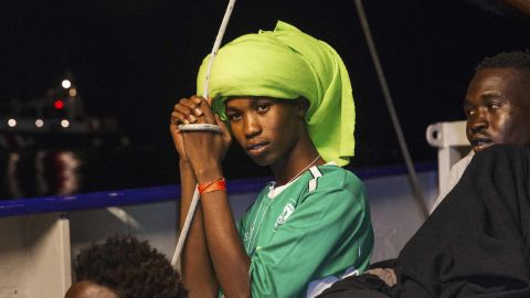 The rescued migrants on the Lifeline have been stranded since Friday.