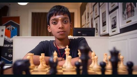 R. Praggnanandhaa has been awarded the coveted title of Grand Master -- at just 12 years and 10 months of age.