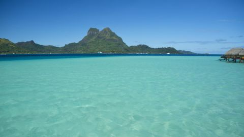 <strong>Tahiti: </strong>With balmy trade winds, a consistent climate and a combination of sheltered waters behind the reefs and more exciting open-water passages between islands, French Polynesia is a watery world like no other, with Bora Bora (pictured) as its fabled highlight. <br />