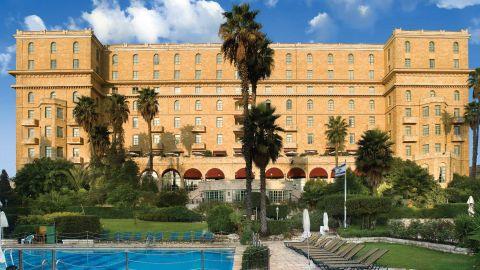 The King David Hotel in Jerusalem.