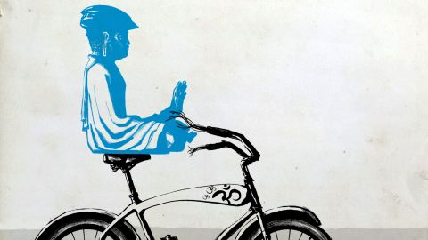 """Rekindle childhood joy, help the Earth, stay in shape, and practice mindfulness -- all on two wheels. <a href=""""http://www.cnn.com/2018/07/30/health/biking-wisdom-project/index.html"""">Read here. </a>"""