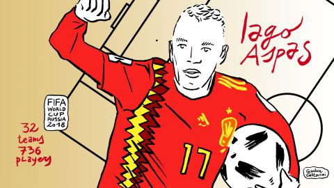 Iago Aspas' deft backheel ensured Spain grabbed a 2-2 draw against Morocco. It was initially ruled out for offside, only for Uzbekistani referee Ravshan Irmatov to award the goal following a VAR review. A point for Spain coupled with a late equalizer for Iran against Portugal meant La Roja topped Group B by virtue of goals scored.